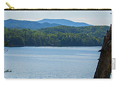 Carry-all Pouch featuring the photograph North Georgia Mountains  by Shannon Harrington