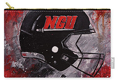 North Greenville University Football Helmet Wall Art Painting Carry-all Pouch