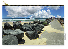 North Haven Breakwater Walkway By Kaye Menner Carry-all Pouch