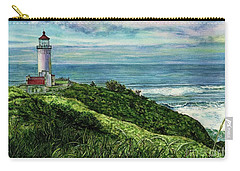 North Head Lighthouse And Beyond Carry-all Pouch