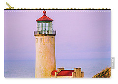Carry-all Pouch featuring the photograph North Head Lighthouse by Bryan Carter