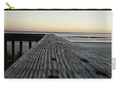 Carry-all Pouch featuring the photograph North Myrtle Beach Evening by Robert Knight