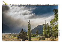 Carry-all Pouch featuring the photograph North Of Glenorchy by Gary Eason