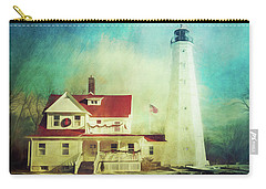 North Point Lighthouse Keeper's Quarters Carry-all Pouch