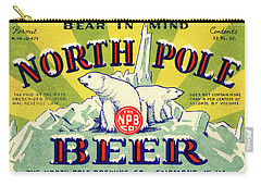 North Pole Beer Carry-all Pouch