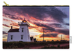 North Rustico Lighthouse Sunset Carry-all Pouch