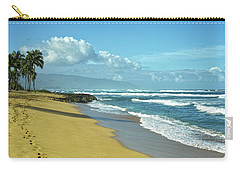 Carry-all Pouch featuring the photograph North Shore Morning by Lars Lentz