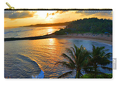 North Shore Of Oahu  Carry-all Pouch by Michael Rucker