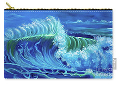 North Shore Wave Hawaii Jenny Lee Discount Carry-all Pouch