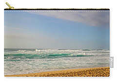 North Shore Waves In The Late Afternoon Sun Carry-all Pouch