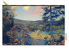 Carry-all Pouch featuring the photograph North South Lake by John Rivera