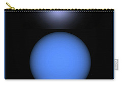Carry-all Pouch featuring the digital art North Star by John Krakora