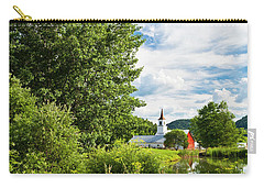 Carry-all Pouch featuring the photograph North Tunbridge Summer Day by Alan L Graham