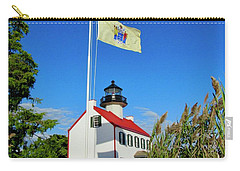 North Wind At East Point Light Carry-all Pouch