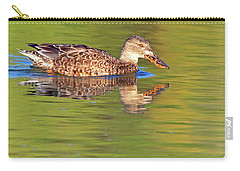 Norther Shoveler Female Carry-all Pouch by Tam Ryan
