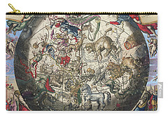 Northern Boreal Hemisphere Carry-all Pouch by Andreas Cellarius