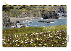 Northern California Coast Scene Carry-all Pouch by Mick Anderson