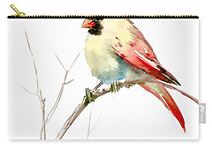 Northern Cardinal,female Carry-all Pouch by Suren Nersisyan