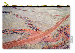 northern Colorado foothills aerial view Carry-all Pouch