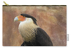 Northern Crested Caracara At Sunset Carry-all Pouch