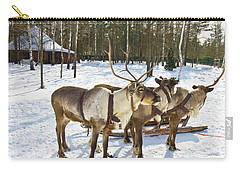 Northern Deers Carry-all Pouch