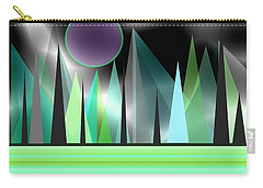 Northern Lights Carry-all Pouch by Kathleen Sartoris