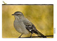 Northern Mockingbird Carry-all Pouch by Chris Lord