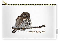 Northern Pygmy Owl 2 Carry-all Pouch