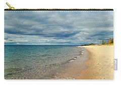 Carry-all Pouch featuring the photograph Northern Shore by Michelle Calkins