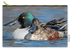 Northern Shoveler Pair Close-up Carry-all Pouch
