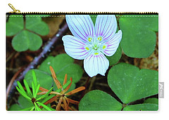 Northern Wood Sorrel Carry-all Pouch