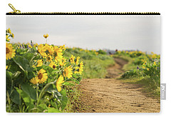 Northwest Balsamroot On Mosier Plateau Carry-all Pouch