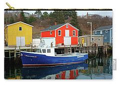 Northwest Harbour, Nova Scotia, Canada In Winter Carry-all Pouch
