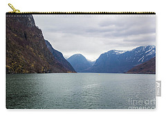 Carry-all Pouch featuring the photograph Norwegian Fjords by Suzanne Luft
