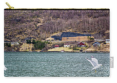 Carry-all Pouch featuring the photograph Norwegian Village by Suzanne Luft