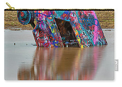 Carry-all Pouch featuring the photograph Nose Dive by Stephen Stookey