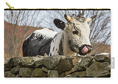 Carry-all Pouch featuring the photograph Nosey by Bill Wakeley