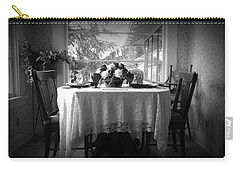 Nostalgia - Breakfast Room Carry-all Pouch by Lori Seaman