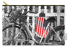 Nostalgic Collection-b And W Carry-all Pouch