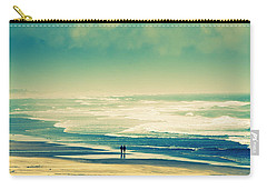 Nostalgic Oceanside Oregon Coast Carry-all Pouch