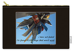 Carry-all Pouch featuring the photograph Not Failed by Irma BACKELANT GALLERIES