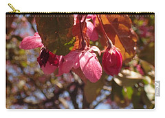 Carry-all Pouch featuring the photograph Not Far From The Tree by Christina Verdgeline