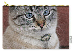 Not Impressed  Carry-all Pouch by Kim Henderson