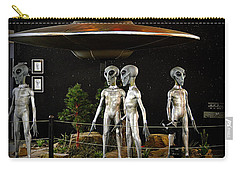 Carry-all Pouch featuring the photograph Not Of This Earth by AJ Schibig