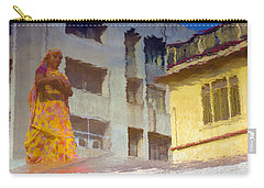 Not Sure Carry-all Pouch by Prakash Ghai