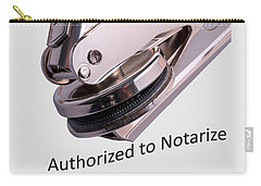 Notary Public Slogan Carry-all Pouch