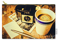 Notes Of Past Recollection Carry-all Pouch