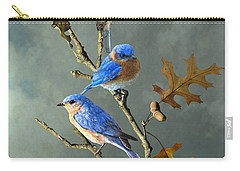 Nothing But Bluebirds Carry-all Pouch