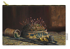 Carry-all Pouch featuring the painting Notions by Dorothy Allston Rogers