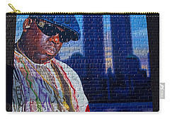Notorious B.i.g. Carry-all Pouch by  Newwwman